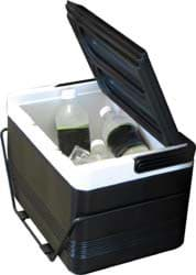 Picture of 12-Pack Cooler With Rear Fender Mounting Basket
