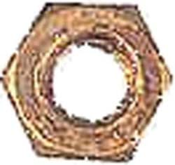 Picture of Brass hex nut (20/Pkg)